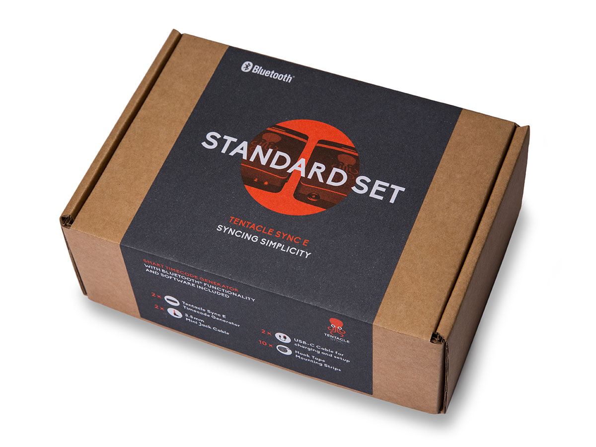 Tentacle Sync E - Packaging - Standard Set