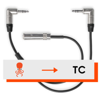 Tentacle microphone Y-adapter cable