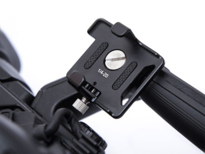 Sync E Bracket mounted on Sony FS5
