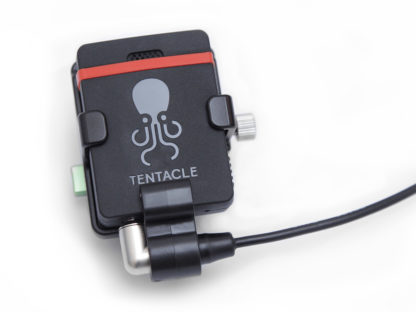 Lightweight Aluminium Bracket for the Tentacle SYNC E - exclusively manufactured by LanParte.