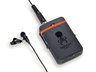 Tentacle TRACK E Audio Recorder with Lavalier Microphone