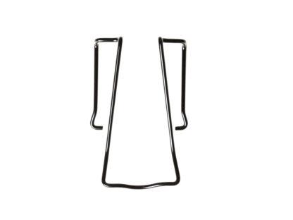 Track E belt clip in black